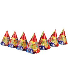 Riethmuller Balloon Party Hats - 6 Pieces