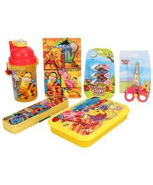 Winnie the Pooh School Kit Yellow - Set of 5