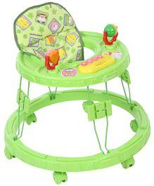 Mothertouch Chikoo Round Walker Deluxe Green - CRWDXG