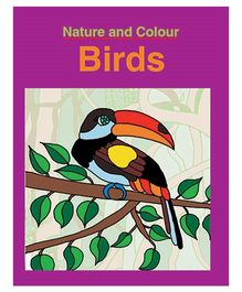 Nature And Colour Birds Book - English
