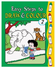 Easy Steps To Draw And Colour Book 2 - English