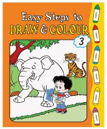 Easy Steps To Draw And Colour Book 3 - English