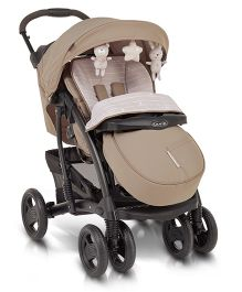 Graco Quattro Tour Deluxe Travel System Bear And Friends - Brown