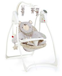 Graco Loving Hug Bear And Friends Swing - Light Brown