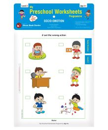 My Preschool Worksheets Programme Socio-Emotion Level 2 - English