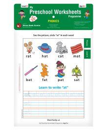 My Preschool Worksheets Programme Phonics Level 3 - English