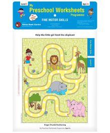 My Preschool Worksheets Programme Fine Motor Skills Level 2 - English