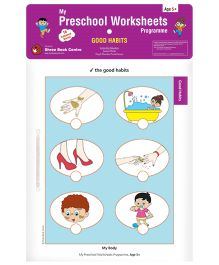 My Preschool Worksheets Programme Good Habits - English