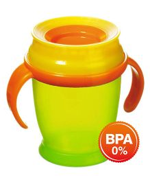 Lovi 360 Cup With Handles Mini Green - 210 ml