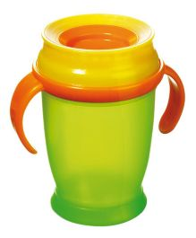 Lovi 360 Cup With Handles Junior Green - 250 ml