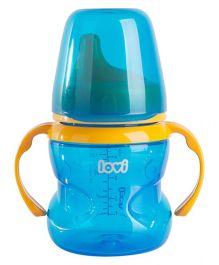 Lovi Non Spill Firm Spout Cup Blue - 150 ml