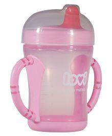 Lovi Easy Start Spout Cup Pink - 200 ml
