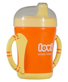 Lovi Easy Start Spout Cup Orange - 200 ml