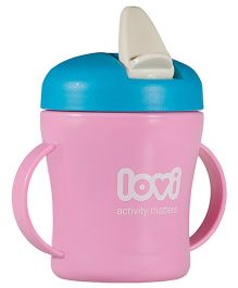 Lovi First Baby Cup Pink - 200 ml