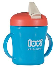 Lovi First Baby Cup Blue - 200 ml