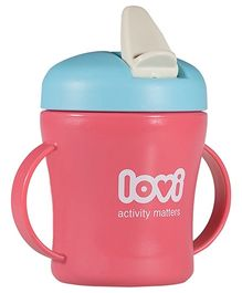 Lovi First Baby Cup Dark Pink - 200 ml