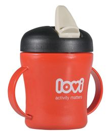 Lovi First Baby Cup Red - 200 ml