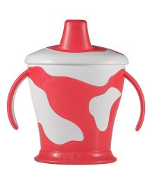 Lovi Cow Cup With Handles Red - 250 ml