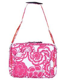 JuJuBe Fuchsia Blossoms Laptop Carrier