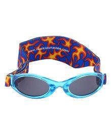 MFS Kids Blue Flames Sunglasses