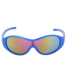 Racer Kids Blue Sunglasses