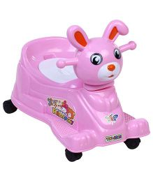 Musical Baby Potty Chair Bunny Face - Pink