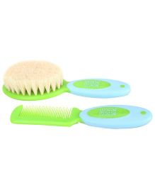 Mee Mee Soft Grip Brush And Comb Set Blue Green - MM-3885
