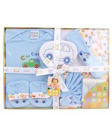 Mee Mee Newborn Gift Set - Blue