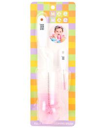 Mee Mee Fully Rotating Cleaning Brush - Pink