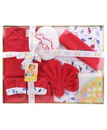 Mee Mee Newborn Gift Set - Red