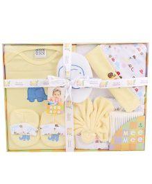 Mee Mee Newborn Gift Set - Yellow