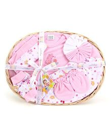 Mee Mee 7 Pieces Baby Gift Set - Pink
