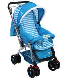 Mee Mee Pram Cum Stroller MM-22 - Aqua Blue