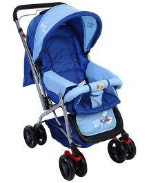 Mee Mee Pram Cum Stroller MM-22 - Blue
