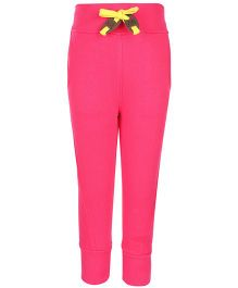 Little Kangaroos Full Length Plain Track Pant - Pink