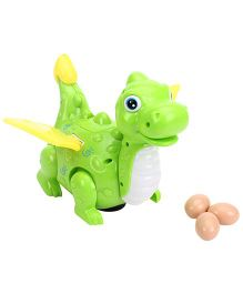 Smiles Creation Dinosaur With Eggs - Green