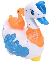 Smiles Creation Projector Swan - White