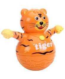 Smile Creations Animal World Tiger Tumbler - Orange