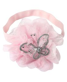 Little Cuddle Betty Butterfly Baby Headband - Baby Pink