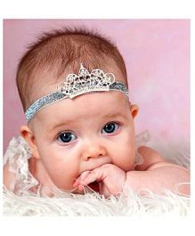 Little Cuddle Royal Baby Crown Headband - Red/Blue