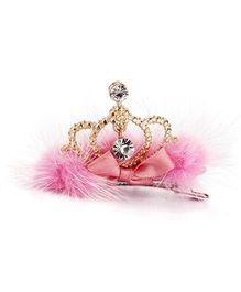 Little Cuddle Tinkling Tiara Hairclip - Pink