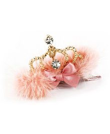 Tinkling Tiara Hairclip - Peach
