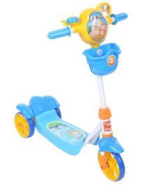 Baby Three Wheel Scooter Fruit Baby Print - Blue