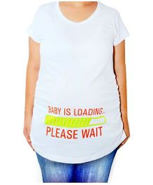 Acute Angle Baby Loading Maternity Top