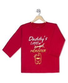 Acute Angle Daddys Monster Toddler Tee