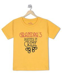 Acute Angle Grandpas Partner Toddler Tee
