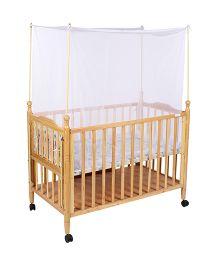 Mee Mee Baby Cradle Cot With Wheels - MM-629B