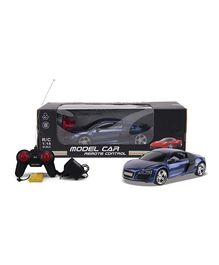 Brunte Remote Control Car With Rechargeable Battery - Blue