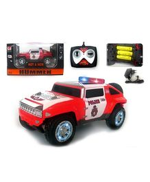Brunte R0060  Police Jeep - Red