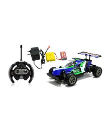 Brunete 1:18 Sports Off The Road Remote Control Car - Blue & Green